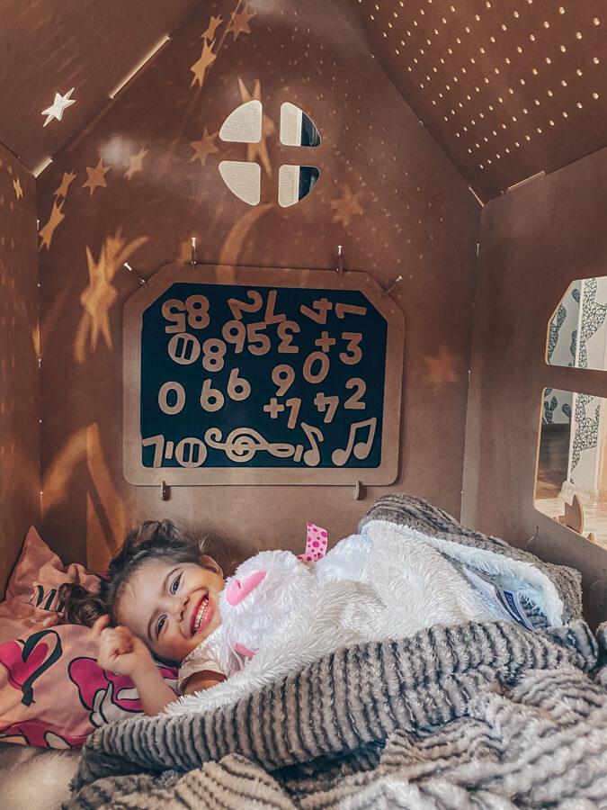 Daudzfunkcionālā bērnu rotaļu māja
