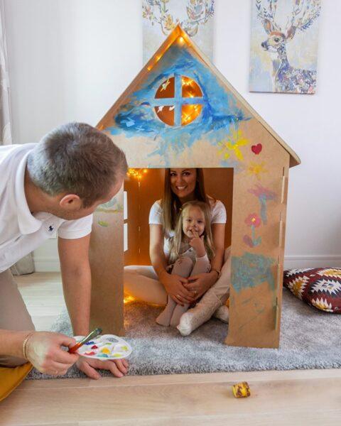 Eko bērnu rotaļu māja